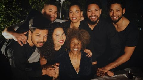 Joel-Smollett-Family-Wedding-Wife-Children
