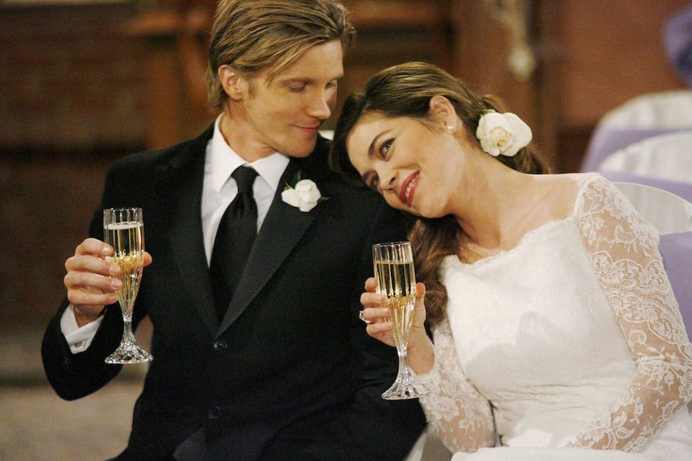 Thad Luckinbill, and Amelia gets married in the series of The Young & Relentless. (soapsindepth)