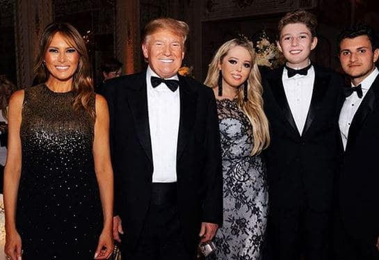 Tiffany-Trump-Family-Father-Mother-Brother